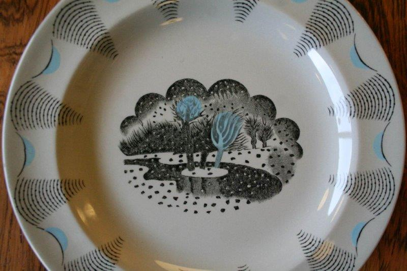 Design Twenty Eric Ravilious Travel Design Plate For