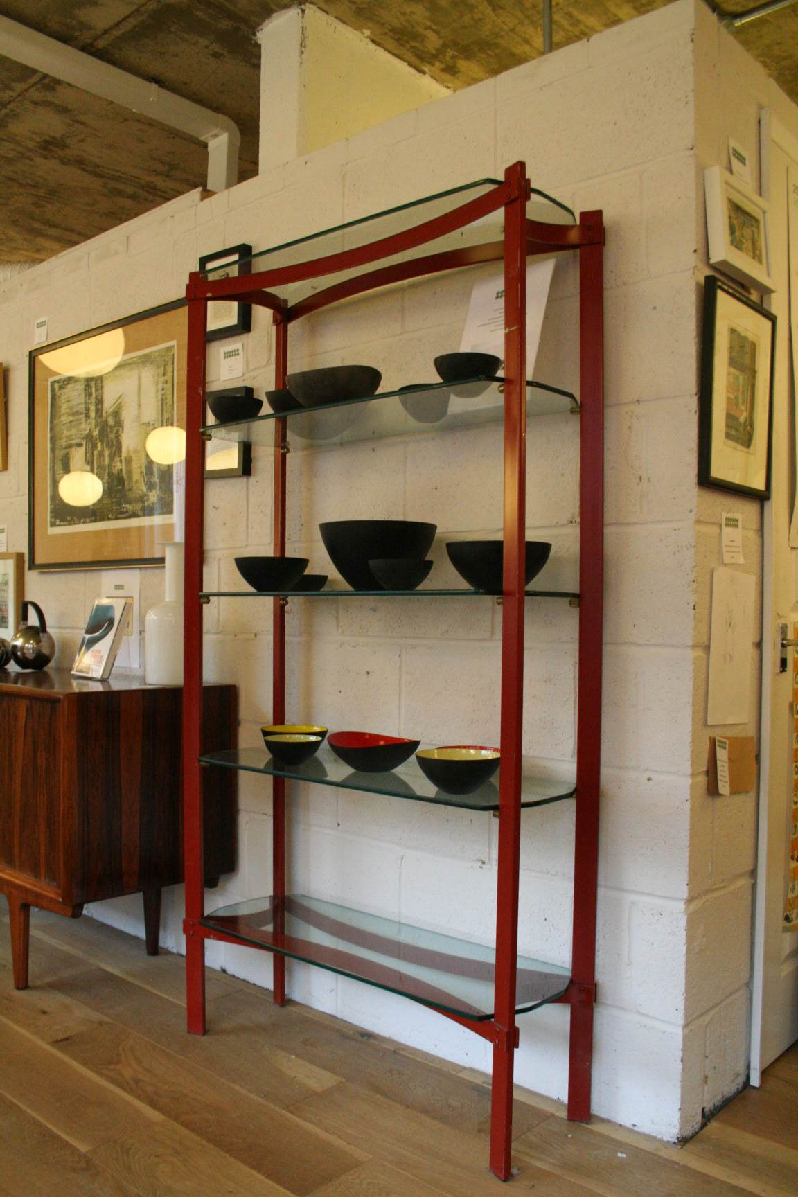Design Twenty Merrow Associates Steel Amp Glass Shelves