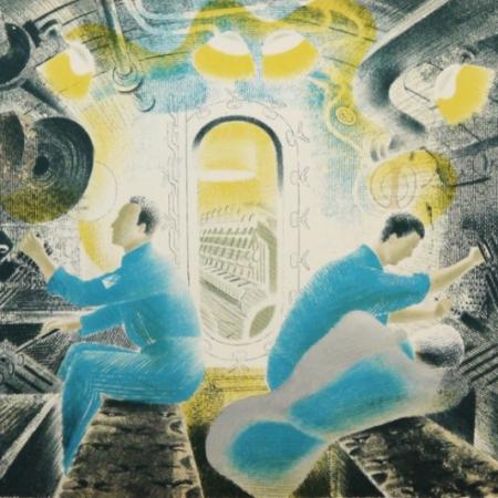 Eric_Ravilious_Submarines___The_Engine_Room_697
